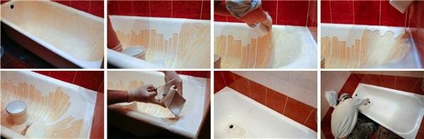 Реставрация ванной мебели своими руками 18