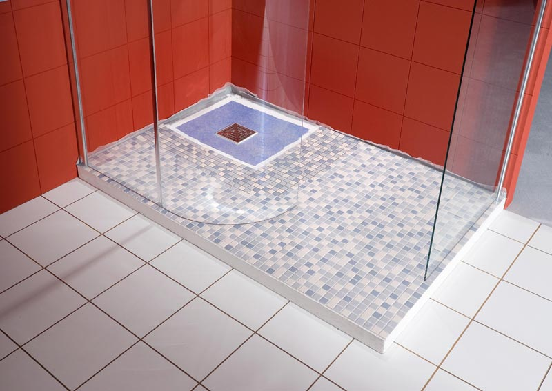 Ванная комната с поддоном для душа своими руками 94