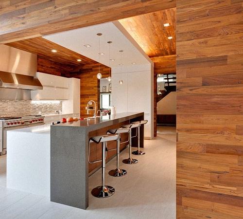 Panele ścienne Z Materiałów Naturalnych Panele Drewniane